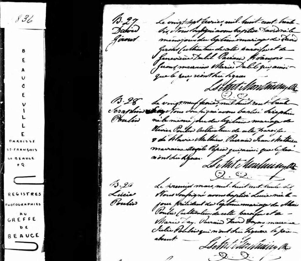 mariage Paul Dupuis Lucie Poulin N_183610