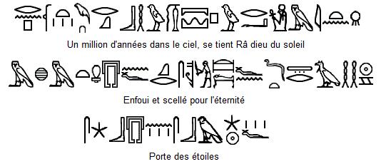 Inscriptions Dalle Stargate (Coverstone) 32131210