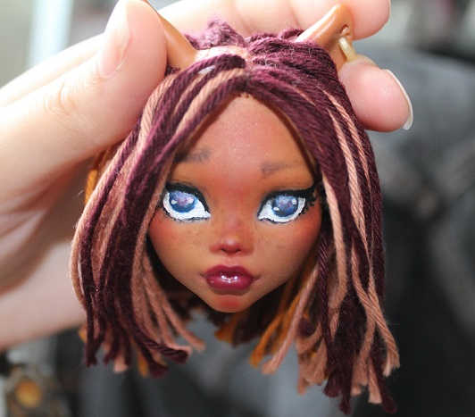 [Monster High] Mes repaints ! Clawde10