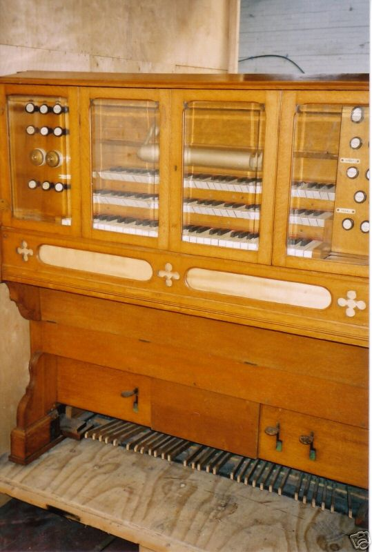 Reed organ Cramer and Co 3 claviers R_patt10