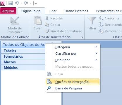 [Resolvido]Proteçao a acesso à tabela MsysObjetcs Dica1110
