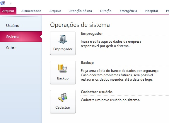 Desativar o menu Arquivo do access  2010 Img210