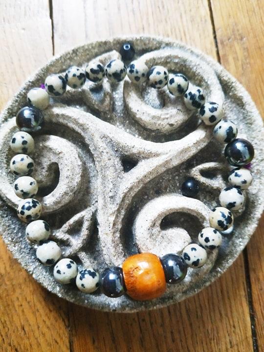 Création de bijoux en pierres. Jaspe10