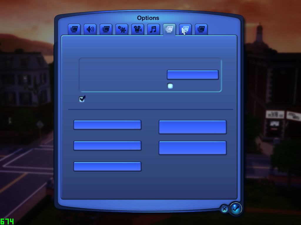 No text whatsoever on cracked The Sims 3 with all expansions Ts3w_215