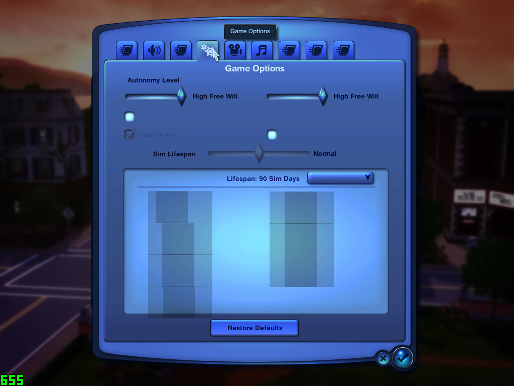 No text whatsoever on cracked The Sims 3 with all expansions Ts3w_216