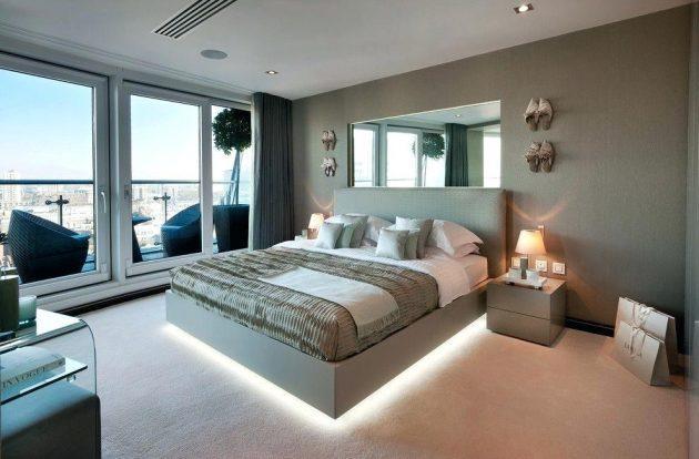 المرآه في غرف النوم 110