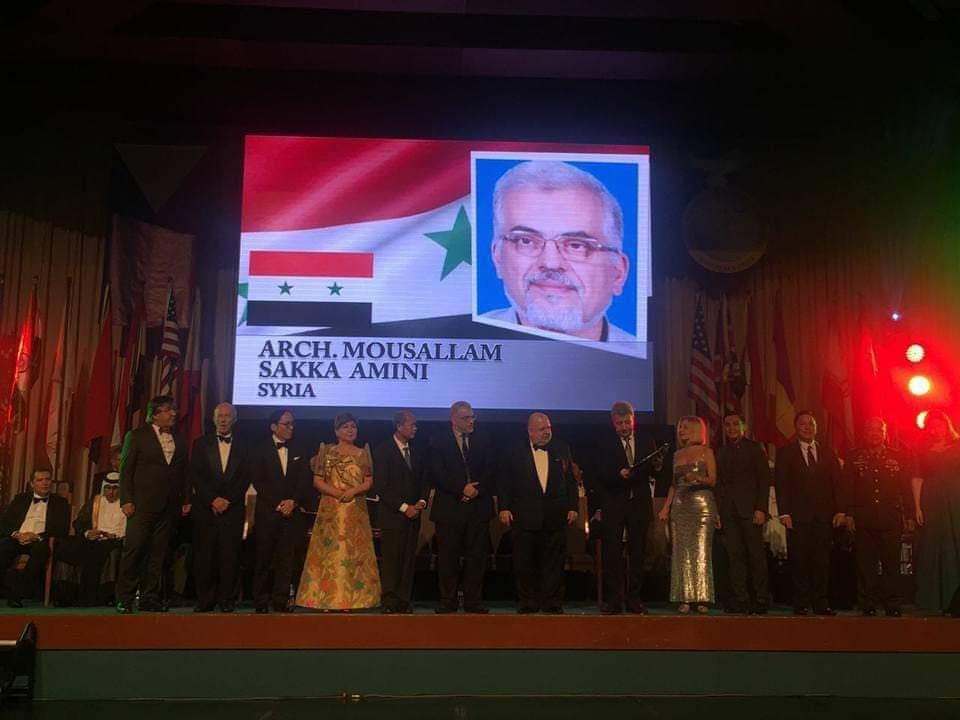 البروفيسور مسلم سقا اميني و جائزة نوبل للهندسة المعمارية Fb_img21