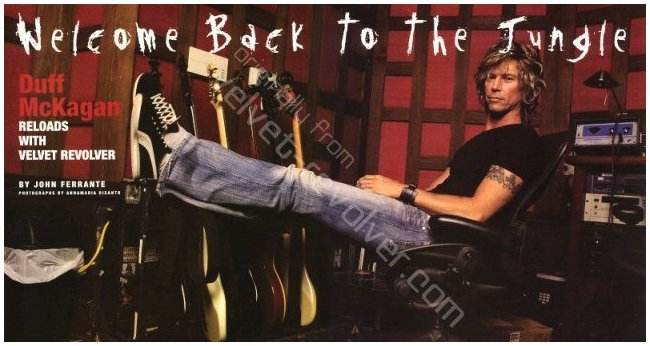 2004.03.DD - Bass Player Magazine - Welcome Back To The Jungle (Duff) 0403xx10