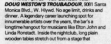 1985.04.24 - The Troubadour, Los Angeles, USA 1985_016