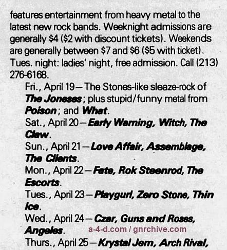 1985.04.24 - The Troubadour, Los Angeles, USA 1985_017
