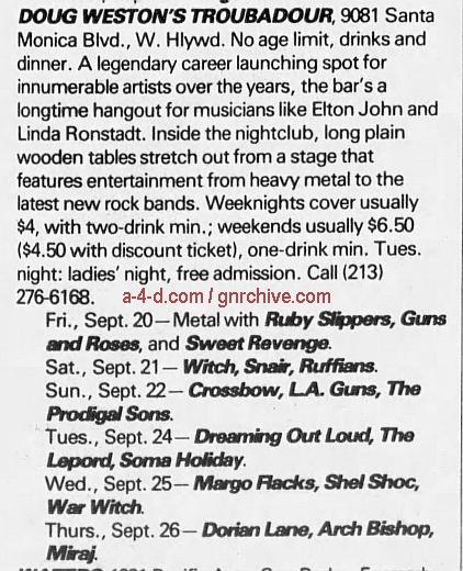 1985.09.20 - The Troubadour, LA, USA 1985_029