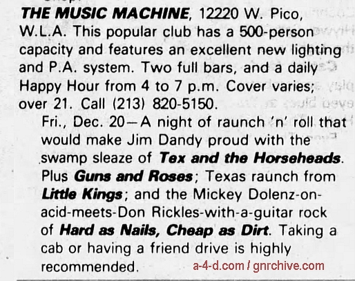 1985.12.20 - Music Machine, USA 1985_117