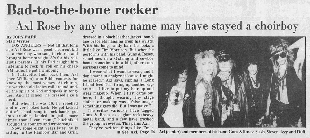 1986.08.10 - Daily Press - Bad-to-the-bone rocker (Axl) 1986_017