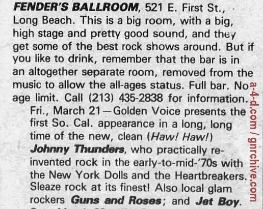 1986.03.21 - Fenders Ballroom, LA, USA 1986_023