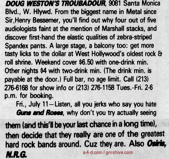 1986.07.11 - The Troubadour, Los Angeles, USA 1986_026