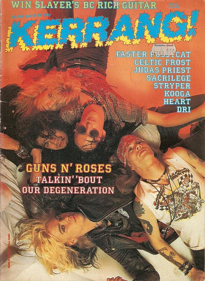 """1987.06.11 - Kerrang! - """"Colt Heroes"""" 1987-010"""