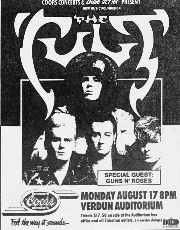 1987.08.17 - Verdun Auditorium, Montreal, Canada 1987_012