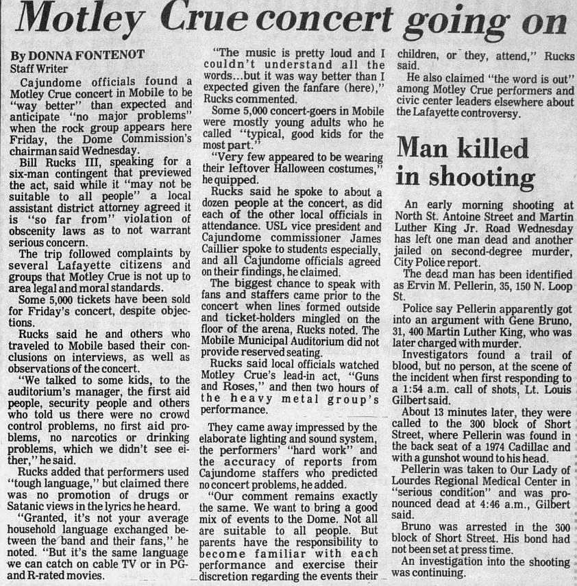 1987.11.06 - Cajun Dome, Lafayette, USA 1987_114