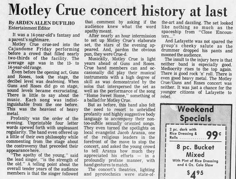 1987.11.06 - Cajun Dome, Lafayette, USA 1987_115