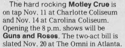1987.11.11 - Charlotte Coliseum, Charlotte, USA 1987_116