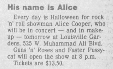1987.12.12 - Louisville Gardens. Louisville, USA 1987_126