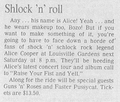 1987.12.12 - Louisville Gardens. Louisville, USA 1987_128