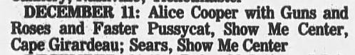 1987.12.12 - Louisville Gardens. Louisville, USA 1987_129