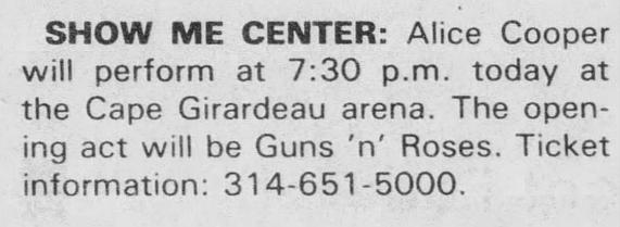 1987.12.12 - Louisville Gardens. Louisville, USA 1987_132