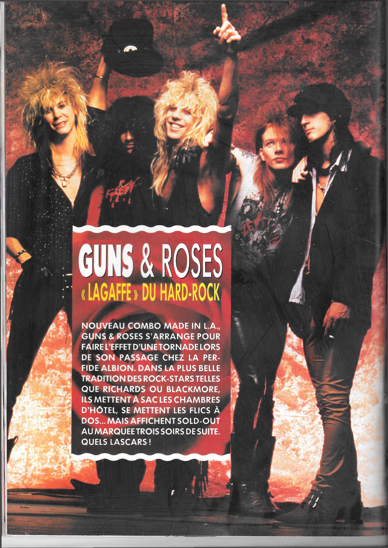 1987.10.DD - Hard Rock Magazine - Guns & Roses (Axl, Slash, Duff) 1987_133