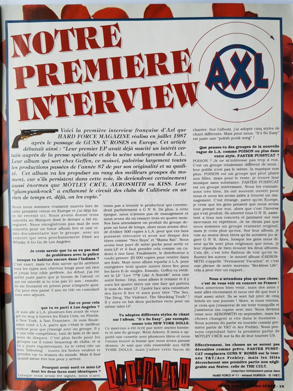 1987.10.DD - Hard Force (France) - Interview with Axl 1987_141