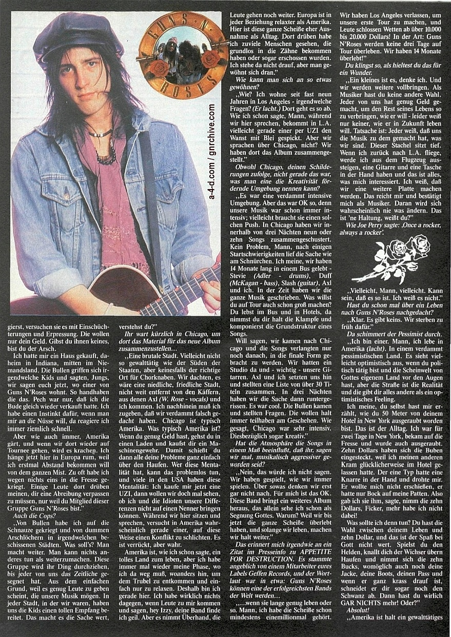 1989.09.DD - Metal Hammer (Germany) - Revolution Calling (Izzy) 1988-025
