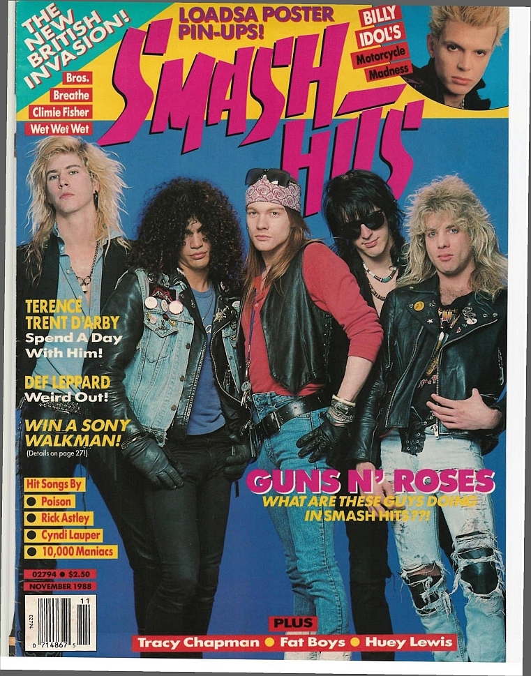 1988.11.DD - Smash Hits - Shooting From The Lip With Guns N' Roses! (Slash) 1988-110