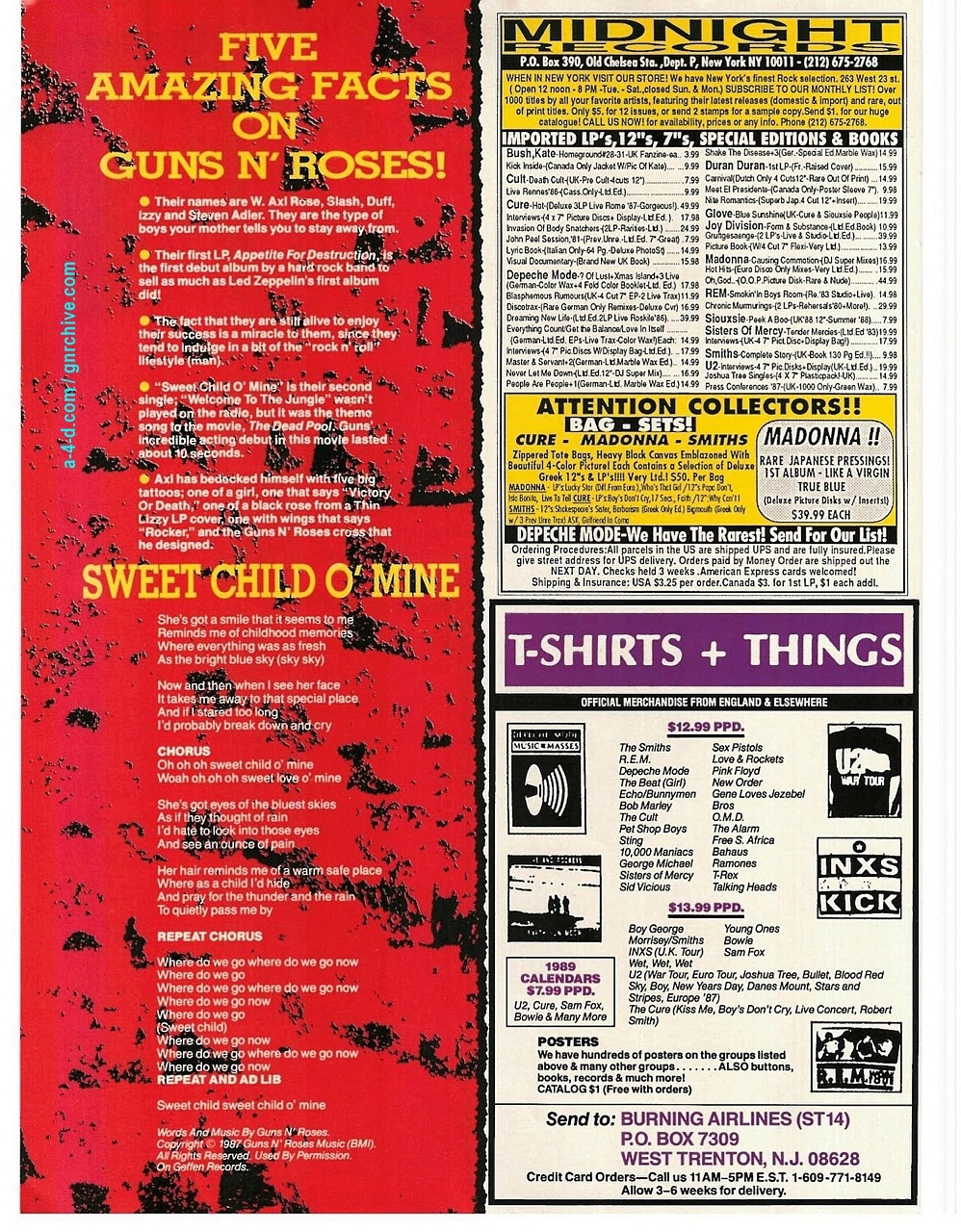 1988.11.DD - Smash Hits - Shooting From The Lip With Guns N' Roses! (Slash) 1988-113