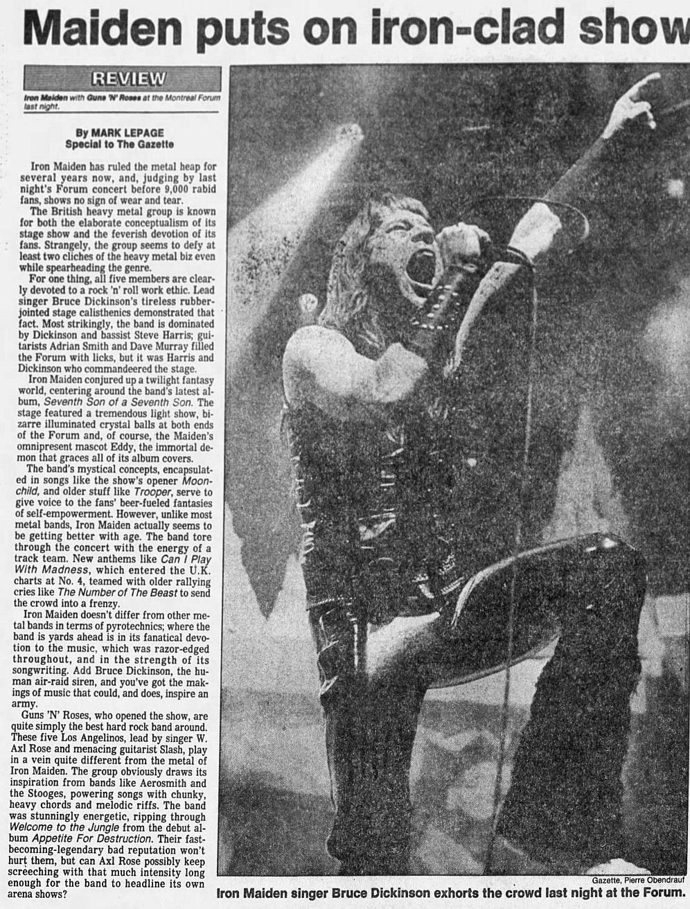 1988.05.17 - Montreal Forum, Montreal, Canada 1988_019