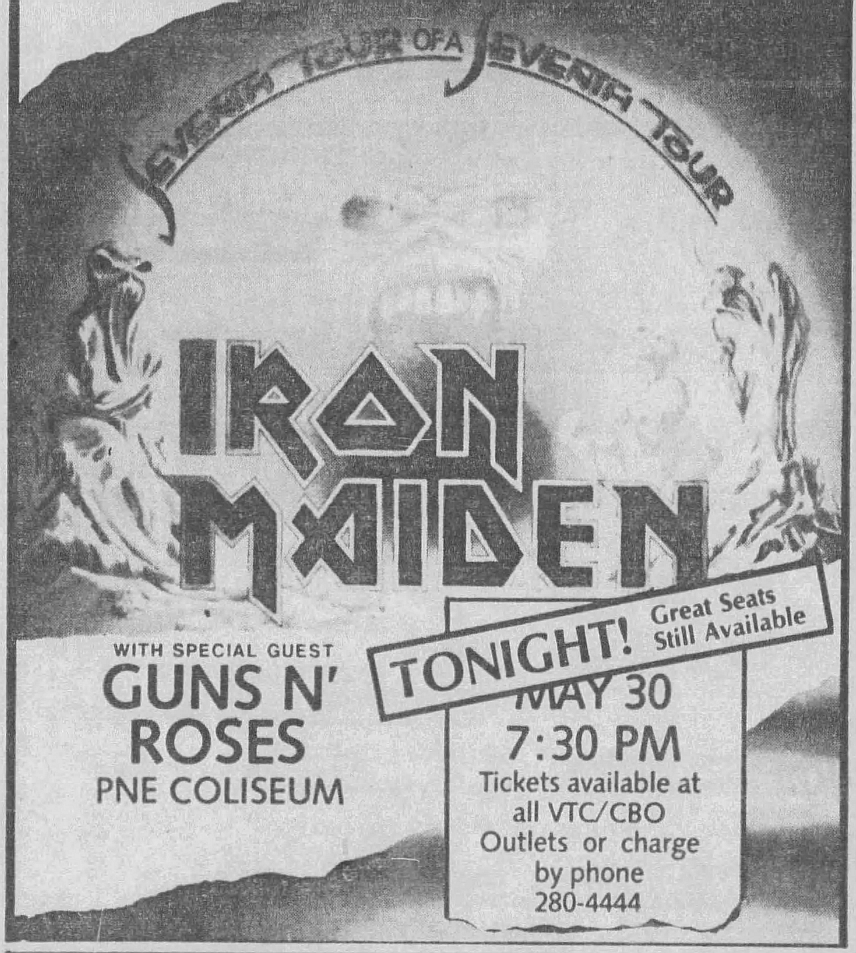 1988.05.30 - PNE Coliseum, Vancouver, Canada 1988_023