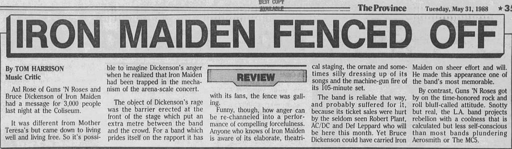 1988.05.30 - PNE Coliseum, Vancouver, Canada 1988_024