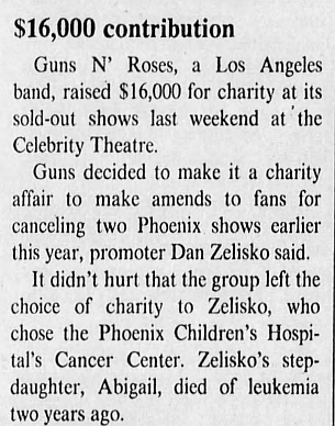 1988.07.09 - Celebrity Theatre, Phoenix, USA 1988_025