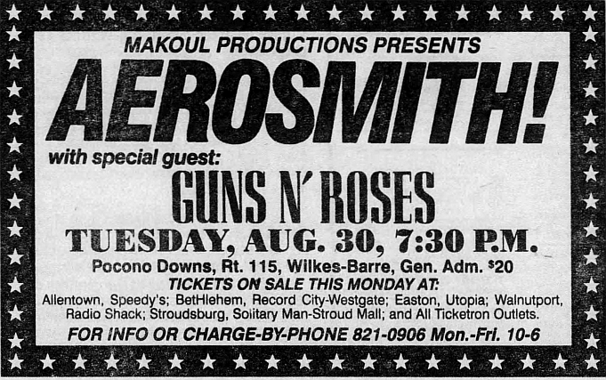 1988.07.30 - Val Du Lakes Amphitheatre, Mears, USA 1988_030