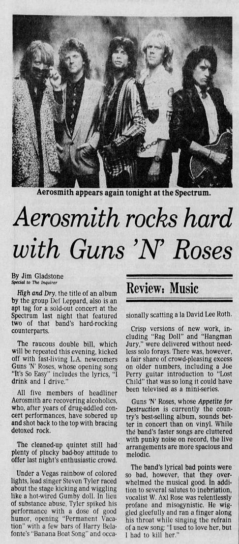 1988.08.04 - Philadelphia Spectrum, Philadelphia, USA 1988_035