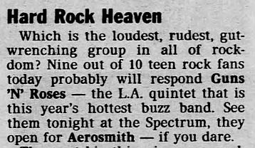 1988.08.05 - Philadelphia Spectrum, Philadelphia, USA 1988_036
