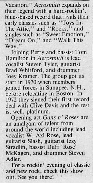 1988.08.07 - Orange County Fairgrounds, Middletown, USA 1988_039