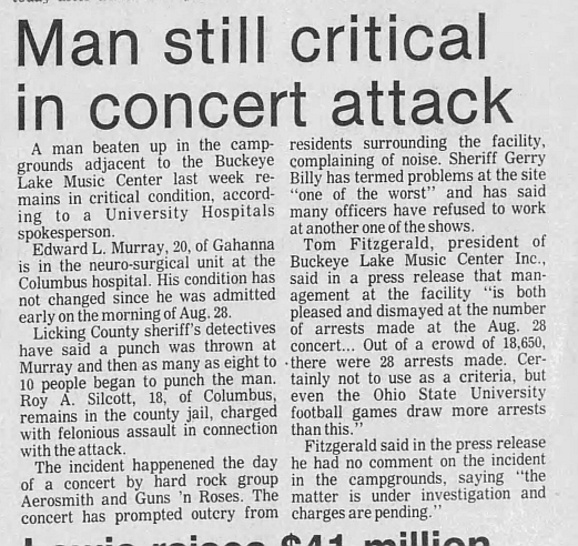 1988.08.28 - Buckeye Lake Music Center, Newark, USA 1988_051