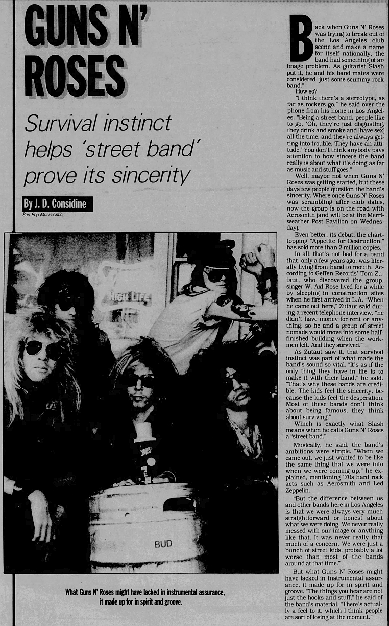 1988.08.12 - The Baltimore Sun - Guns N' Roses (Slash) 1988_058