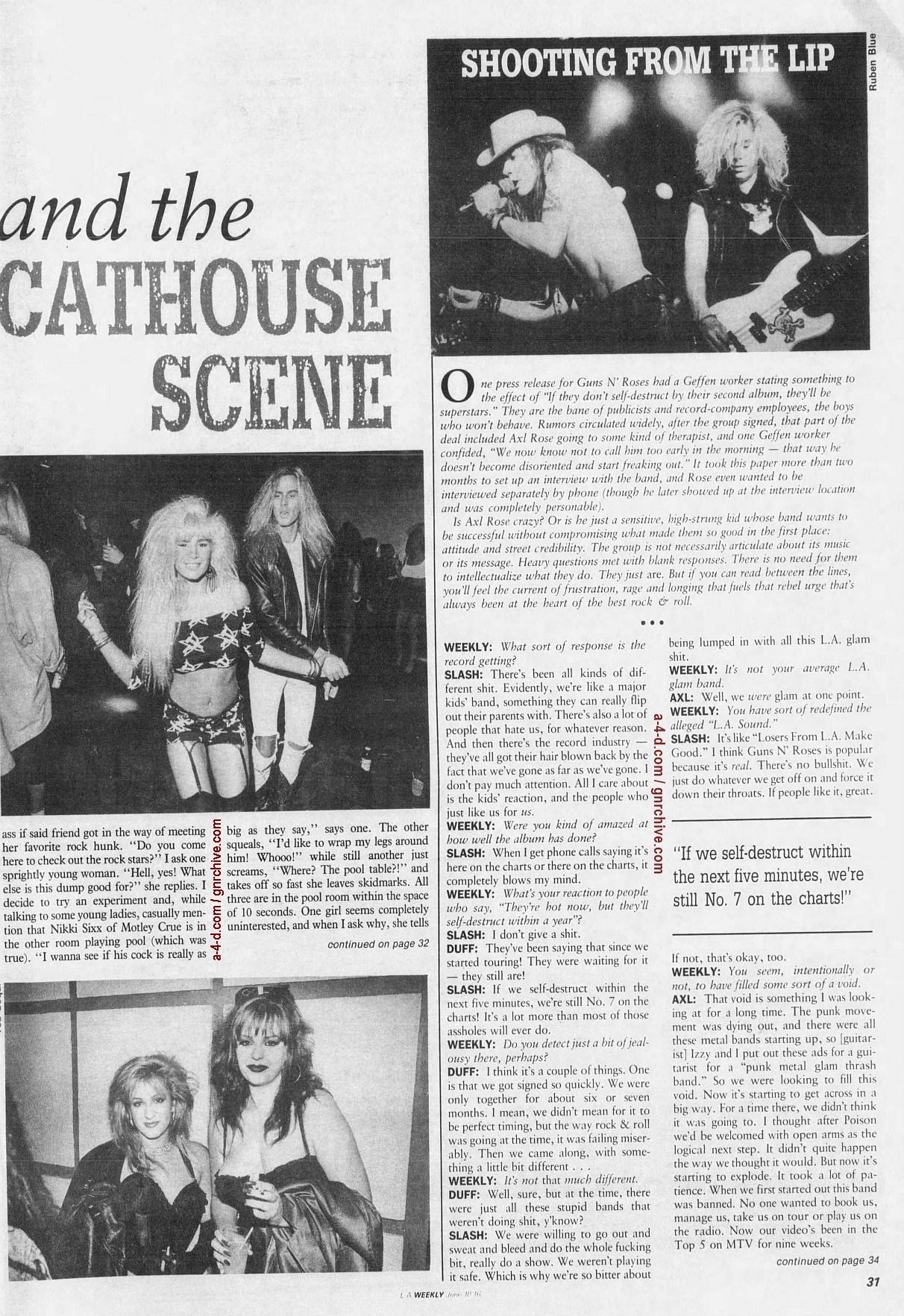 1988.06.10 - L.A. Weekly - Bad Boys, Great Noize (Axl, Slash, Duff) 1988_087