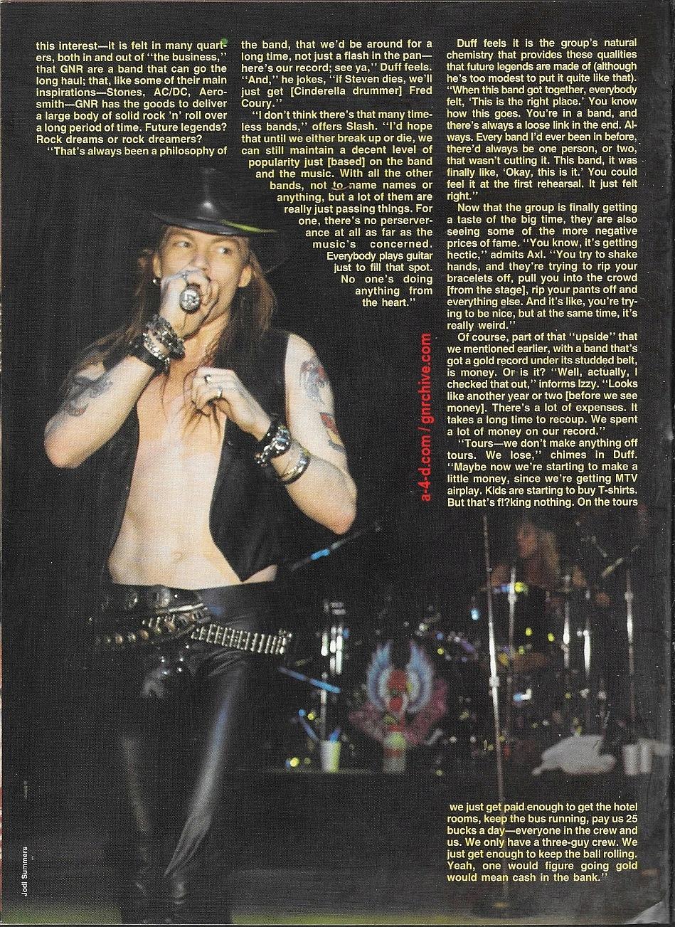 1988.06.DD - RIP Magazine - Guns N' Roses On The Stairway To Rock Heaven (Axl, Slash, Izzy, Duff) 1988_106