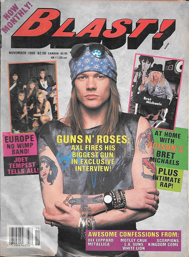 1988.11.DD - Blast! - Axl Rose Explains How He Has Guns N' Roses By the Throat! 1988_113