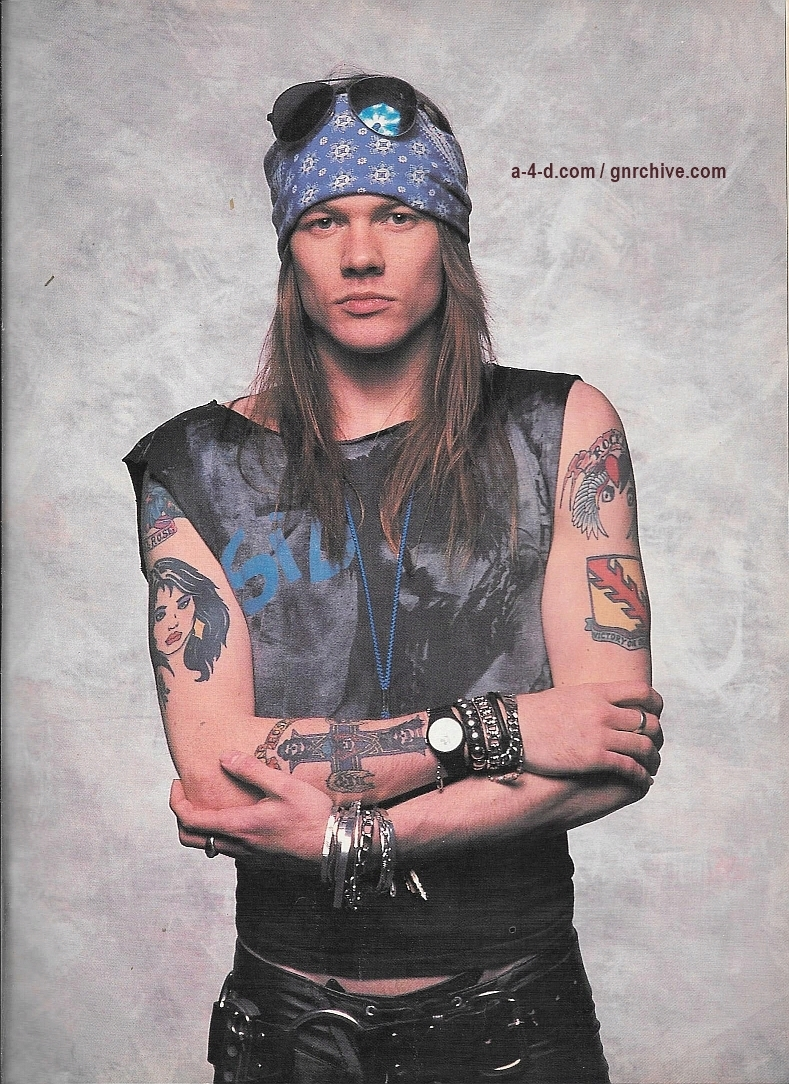 1988.11.DD - Blast! - Axl Rose Explains How He Has Guns N' Roses By the Throat! 1988_114
