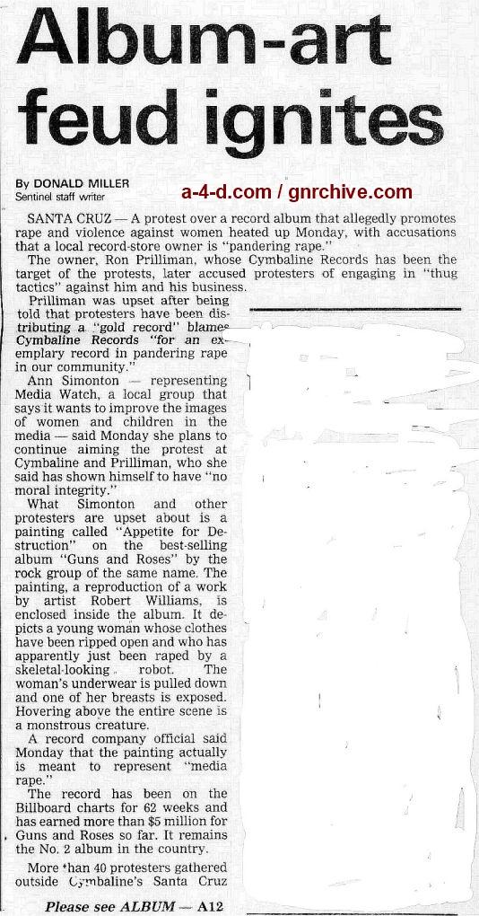 1988.10.25 - Santa Cruz Sentinel - Album-Art Feud Ignites 1988_118
