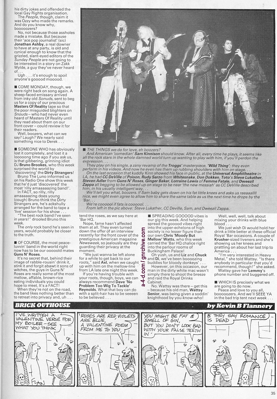 1989.02.18 - Kerrang! - [Short notice] 1989-010