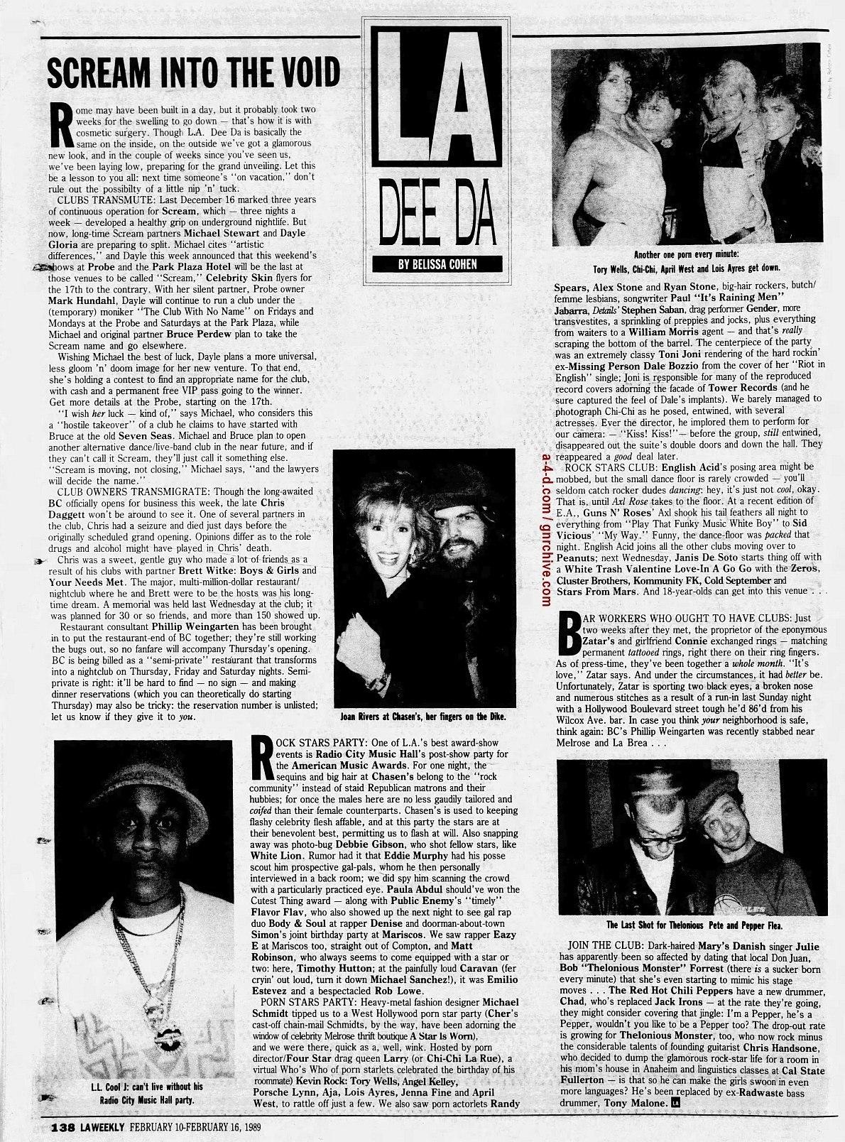 1989.02.10 - L.A. Weekly - L.A. Dee Da (Axl) 1989_014